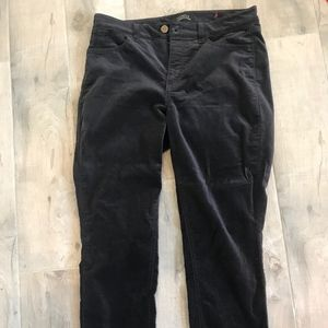 Talbots Charcoal Grey Jeggings Size 6